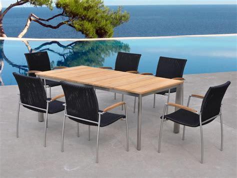 table et chaises design ensembles table et chaises de jardin aménagement
