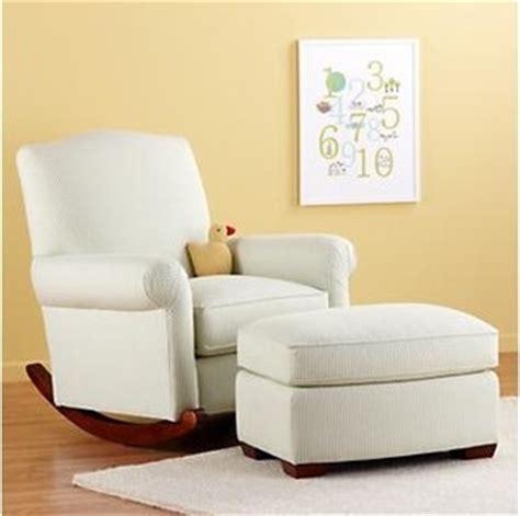 nursery rocker and ottoman traditional nursing chairs