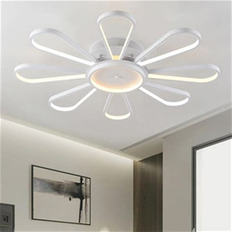 kitchen ceiling fans with led lights creative fan shaped led ceiling light fixtures for bedroom