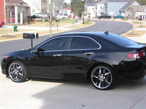 2010 Acura Tsx Black Rims
