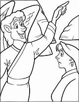 Resurrection Coloring Jesus Sermons4kids Risen Colorpg Alive Easter Resources Children sketch template