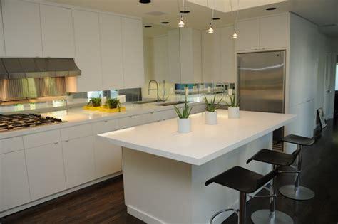 Caesarstone Blizzard  2141  Contemporary Kitchen
