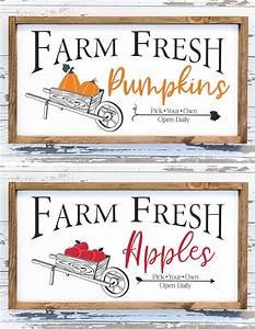 Farm, Fresh, Fall, Signs, Cut, Files