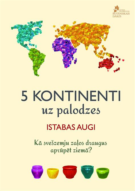 """""""5 kontinenti uz palodzes"""