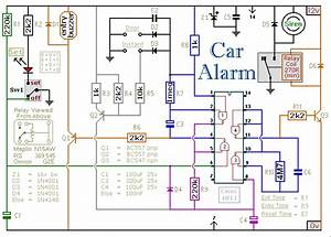 Free Wiring Diagram  Circuit Diogram Of Anti Thift