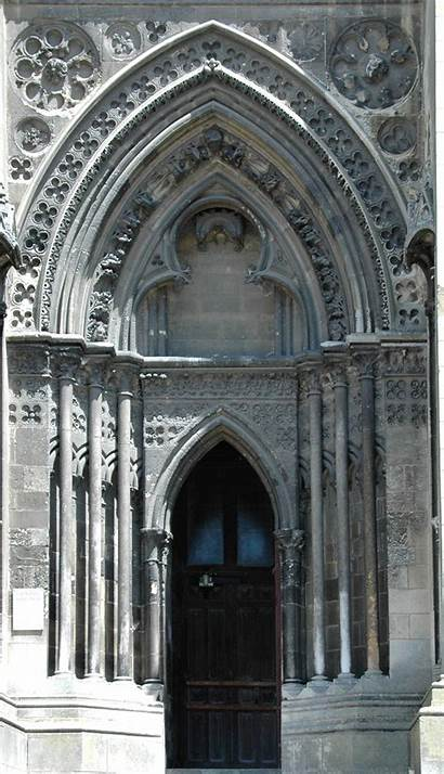 Gothic Architecture Ruskin Cathedral Lisieux Victorian Churches