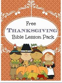pink casa free thanksgiving bible lesson pack