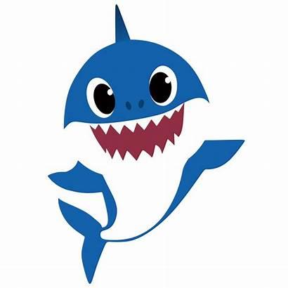Shark Clip Clipart Party Doo Birthday Cut
