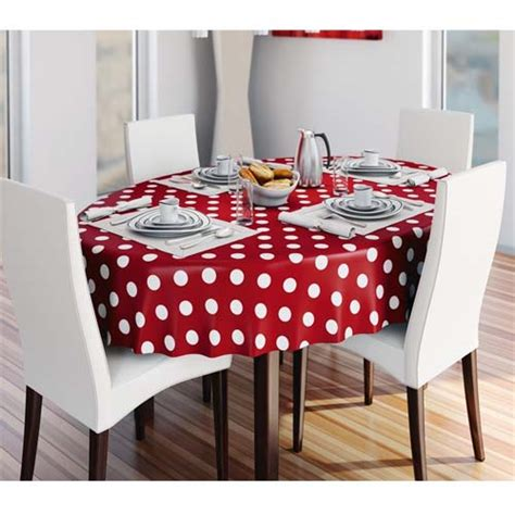 wipe clean table cloth pvc wipe clean vinyl table cloth dotty red price per