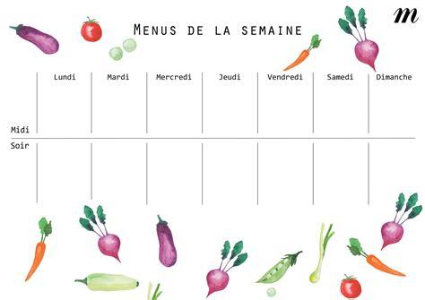 figaro cuisine les bons conseils pour composer ses menus de la semaine