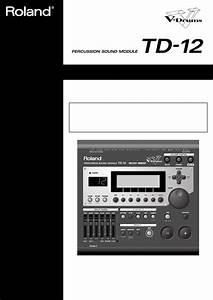 Roland Musical Instrument Td