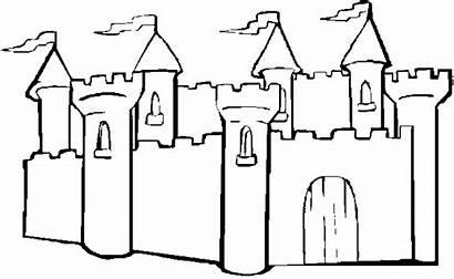 Castle Coloring Sand Pages Sandcastle Princess Easy