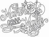 Embroidery Coloring Wicked Machine Adult Sewing Stitchery Quote Makers Gonna Pencil Drawings Urban Thread Threads Quotes Tattoos Patterns Uploaded sketch template