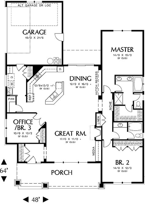 great room house plans one glastonburg 5258 3 bedrooms and 2 5 baths the house
