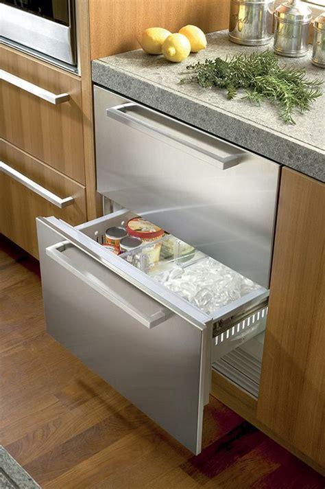integrated refrigerator freezer drawers integrated