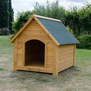Extra large wooden dog kennel pet house outdoor shelter for Dog it kennel