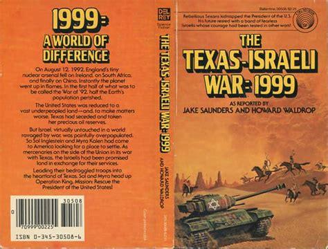 texas israeli war  howard waldrop jake saunders