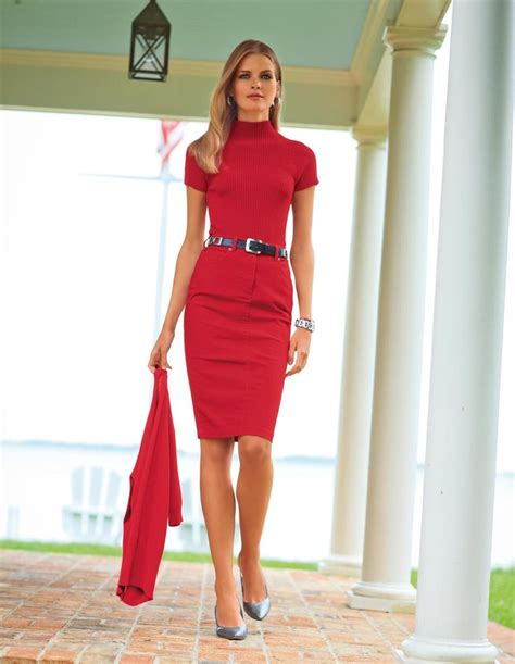 61 best Professionally Sexy Work Outfits images on Pinterest   Work outfits Feminine fashion ...