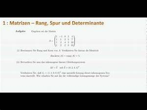 Matrizen Berechnen : berechnung einer determinante doovi ~ Themetempest.com Abrechnung