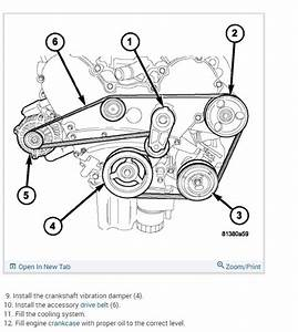 2008 Dodge Avenger Engine Diagram