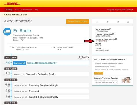 Same Day Supplements India- How To Track Dhl Parcel Std