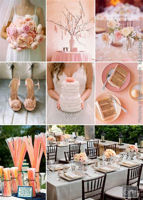 idees centre de table mariage fleurs decoration peche