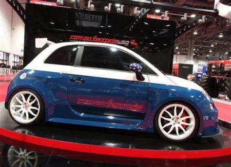 Fiat 500 Abarth Tuning by Fiat 500 Abarth Cinquone Tributo Usa By Romeoferraris