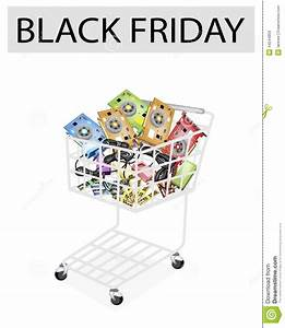 Computer Hardware In Black Friday Shopping Cart Stock ...