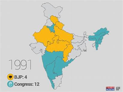 Congress India Election Lok Sabha Does Map