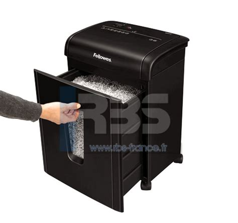 broyeur papier bureau destructeur document confidentiel microshred 62mc