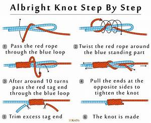 Instructions For Tying An Albright Knot