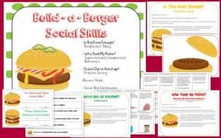 Social Skills Build a Burger