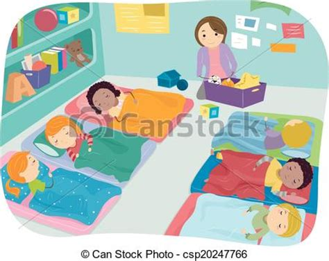 preschool nap nap time preschool illustration of preschoolers taking a nap 822