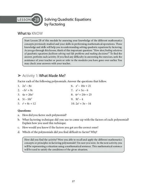 factoring by grouping worksheet algebra 2 answers briefencounters