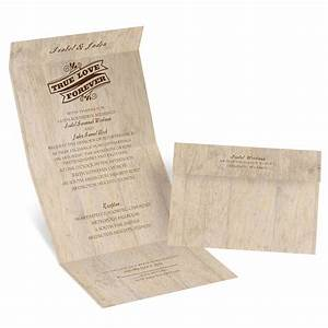 choose your design rustic seal and send invitation With rustic wedding invitations david s bridal