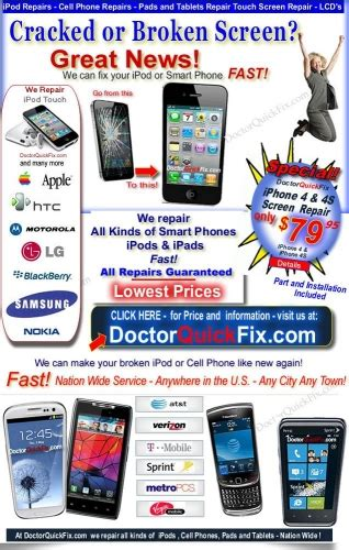 how much does it cost to fix your cracked phone screen