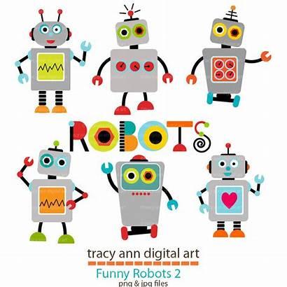 Robot Clip Clipart Robots Grey Robotics Smog