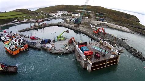 Cape Clear Harbour Storm Gate Chamber Slip Youtube