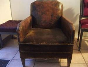 comment refaire un fauteuil club quotcote sieges tapissier With comment refaire un canapé en cuir