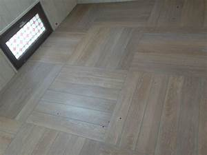 pose de carrelage imitation parquet With carrelage en forme de parquet