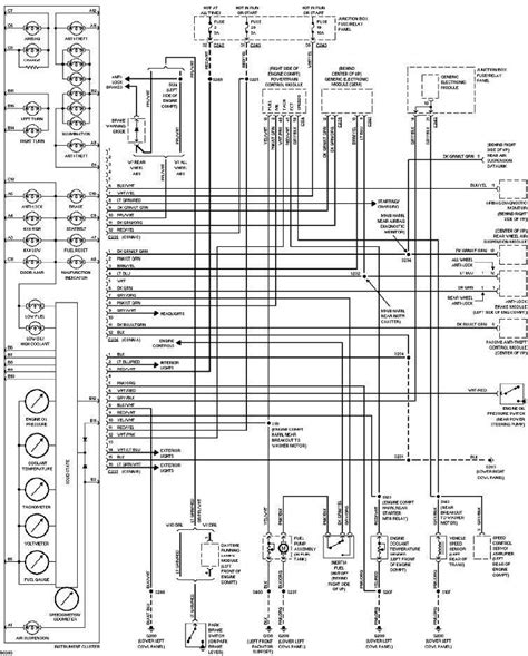 Ford Instrument Cluster Wiring Diagram All
