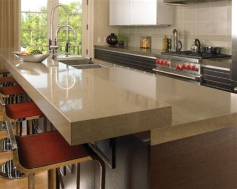 Materials For Kitchen Countertops by 30 Unique Kitchen Countertops Of Different Materials