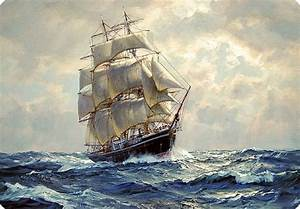 Famous Sailing Ship Paintings | ... Monday for October ...