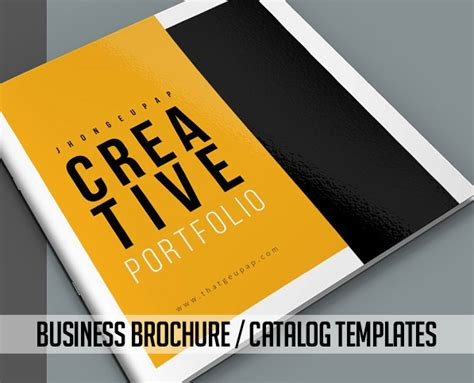 Business Brochure Design Template 000439 Template Catalog New Brochure Templates Catalog Design Design Graphic