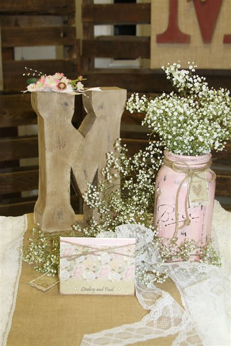 Kitchen Bridal Shower Ideas - rustic wedding centerpiece banquest parties showers etc pinte
