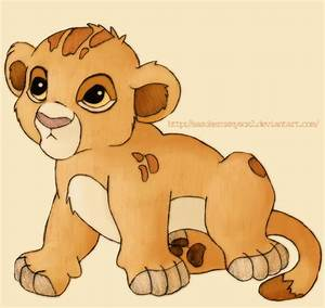 Simba baby by SasukeRoxMySox2 on DeviantArt