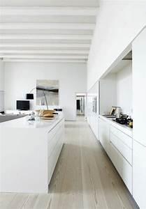 Küchen Modern Weiß : die besten 17 ideen zu offene k chen auf pinterest traumk chen wohnzimmer und riesige k che ~ Markanthonyermac.com Haus und Dekorationen