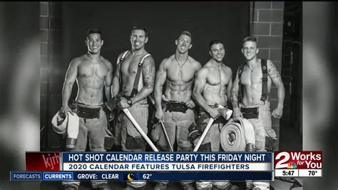 hot shot calendar release party friday night