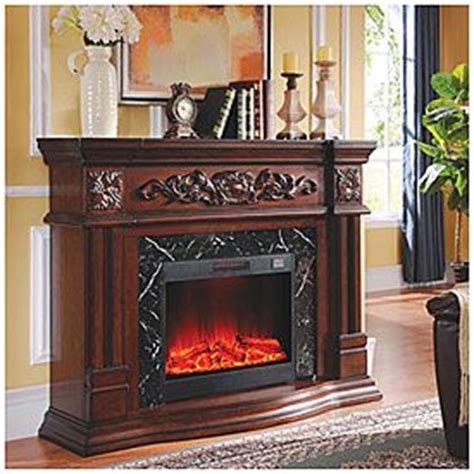view grand cherry electric fireplace deals  big lots