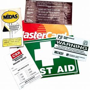 stickers labels and signs products With get labels made